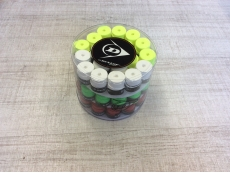 Barattolo da 60 pz. overgrip  Dunlop Tour Pro coloring assortiti