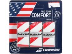 Confezione da 3 pz. overgrip babolat pro tour flag usa